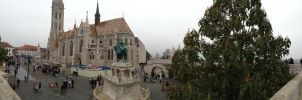 St. Matthias Church Panorama by setanta5