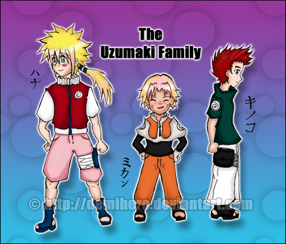 The Uzumaki Family by Demihero