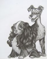 Lady and the Tramp by MartijnPipoo