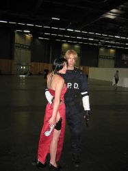 Cosplay Ada Wong - Leon S.Kennedy Japan Expo 2014 by jennifer7878