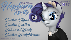 [DL] Hepburn Rarity - Version One by DazzioN