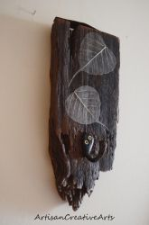 Driftwood Key Hook by ArtisanCreativeArts