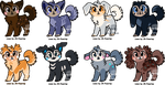 Doll Face Adoptables - OPEN by JB-Pawstep