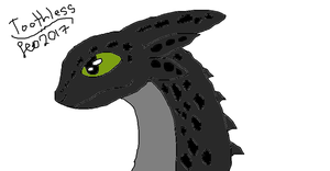 Toothless by TaunyPelt