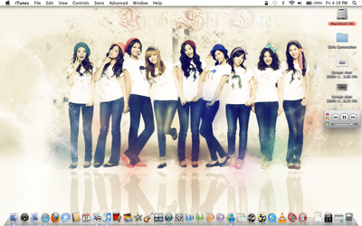 SNSD Desktop 11.27.09 by Nyko119