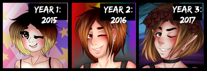 Draw This Again: 3 years by Squeegwee