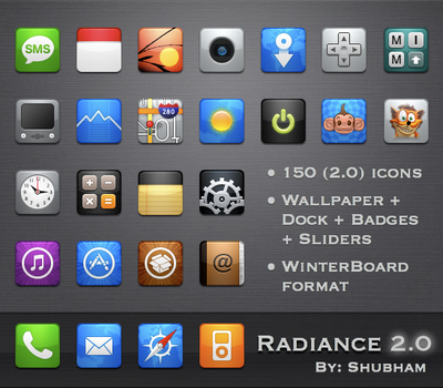 Radiance 2.0 for iPhone by kediashubham