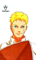 Naruto Adult  - Render 2 by Obedragon