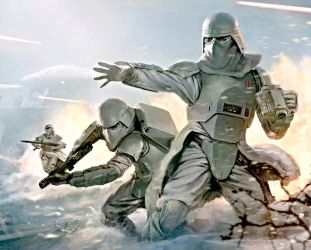 Imperial Military the Star Wars snowtrooper by lieon-Cooke