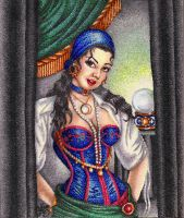Fortune Teller by ScarlettRoyale