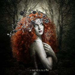 The lady of the black forest by vampirekingdom