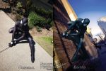 Black Suit Spider-Man - Before and After by SuperSparkplug