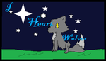I heart Wolves stamp by Levatheshapeshifter