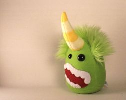 Verbena the Monster Plushie by Saint-Angel