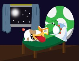 Poochy's Bedtime Story by gemstonelover49