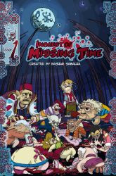 Comic Book Cover Inquest of Missing Time Vol1 by Castiron-Shoe-Monkey