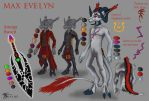 Max Evelyn 'Character Reference' by Kayju7