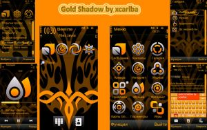 Gold Shadow Theme by Xcariba by xcariba