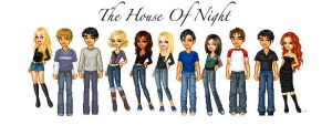 House of Night Series by crayonsfordinner