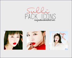 Sulli - Icons 3 by mayradias