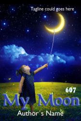 Premade eBook Cover 607 - My Moon by JassysART