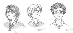 Some Marauders Sketches by lauu7