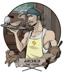 Archer the Cook by testdrive