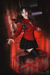 Fate Stay Night - Rin Tohsaka I by Calssara