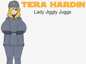 Tera 'Lady Jiggly Juggs' Hardin by Legodecalsmaker961
