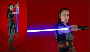 Rey The Last Jedi Cosplay Collage by AmmieChan
