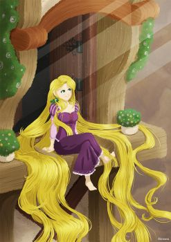Rapunzel - Day by CupcakeAmande