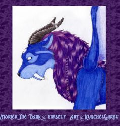 Morier The Dark by KuschelGarou