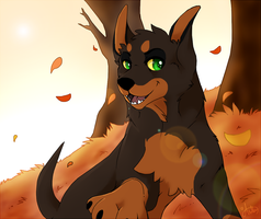 The last days of autumn by Anttu-chan