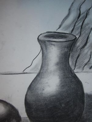 Favorite Charcoal Still Life by BeautyLikeNight