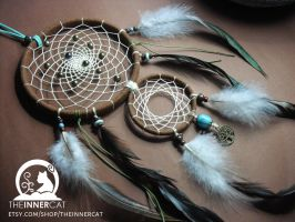 Kabbalah Tree Of Life Dream Catcher #3 by TheInnerCat