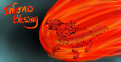 INFERNO - Speed Paint by littlezombiesol