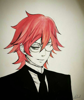 Young Grell Sutcliff  by artsaida