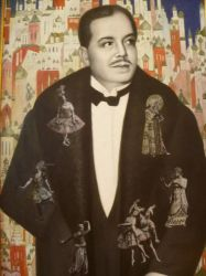 Portrait of Sergei Diaghilev by 4ajka