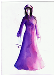 Katerina (watercolor pencil thing by Antervantei