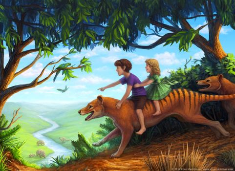 To the valley of the megafauna by T-Tiger