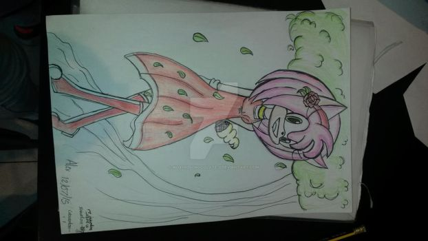 I coloured it in^^