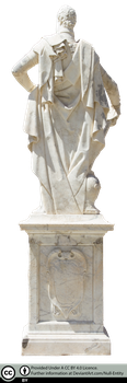 Arezzo Statue Back (Precut) by Null-Entity