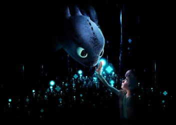 Toothless and Hiccup by Ekoki