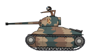 [Concept] Landser Crowle Mk. IV 6-in Pounder V.A by AWellDressedMoose