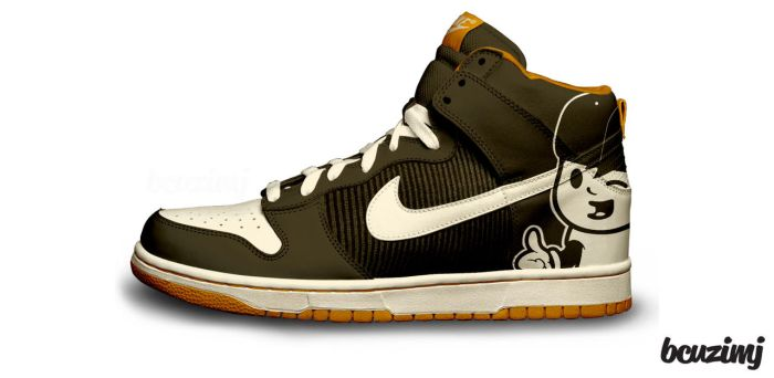 Jay Theads Nike Dunks by becauseimjay