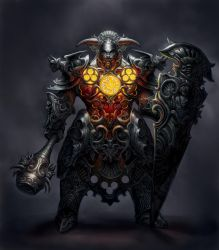 Cathedral Knight reworked by GoldenDaniel