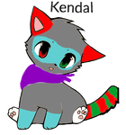 Free-cat-oc's___Kendal by Ask-Darkforest-Ivy