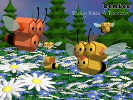 Combee: Busy Bees A Buzzin' by fab-wpg