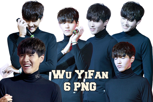 Wu YiFan PNG Pack {Somewhere We Only Know PC} by kamjong-kai