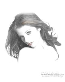 Michelle Trachtenberg by deepvision